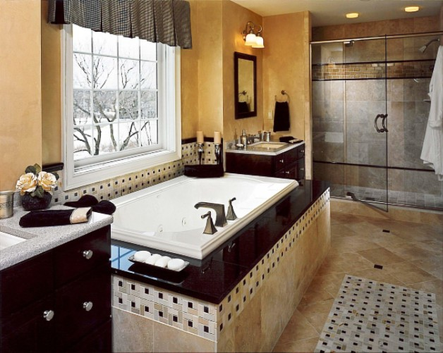 Master bathroom interior design ideas inspiration for your for Bathroom remodeling pictures and ideas
