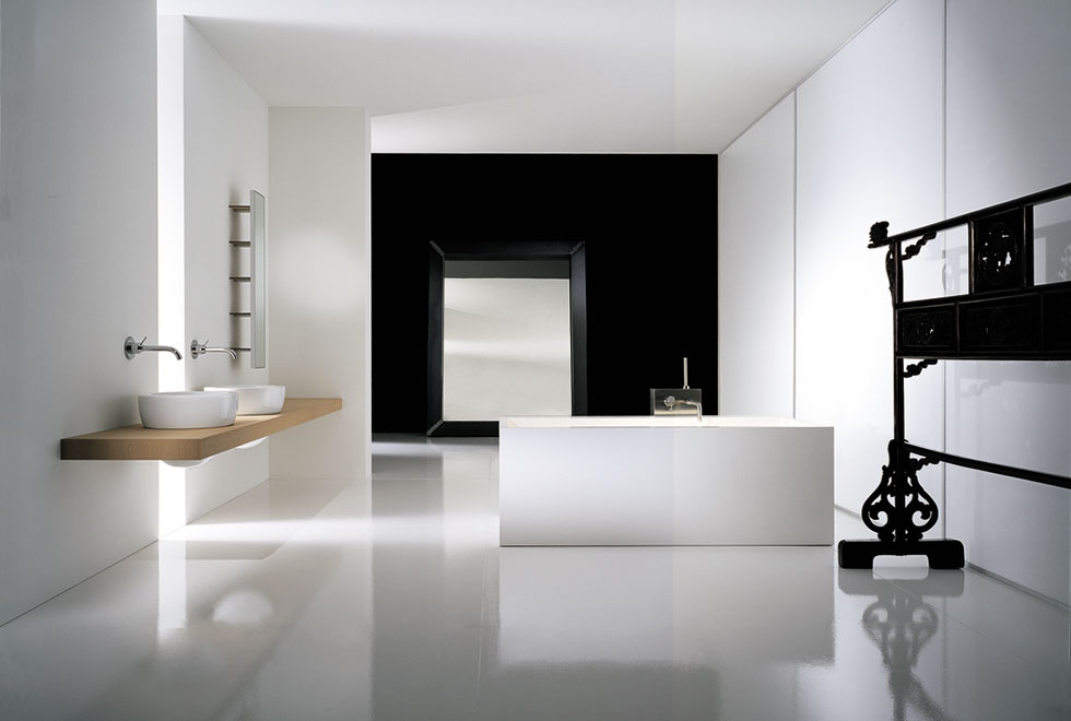 Master bathroom interior design ideas inspiration for your for Modern style bathroom designs