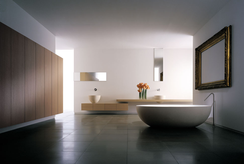 Master bathroom interior design ideas inspiration for your for Minimalist design inspiration