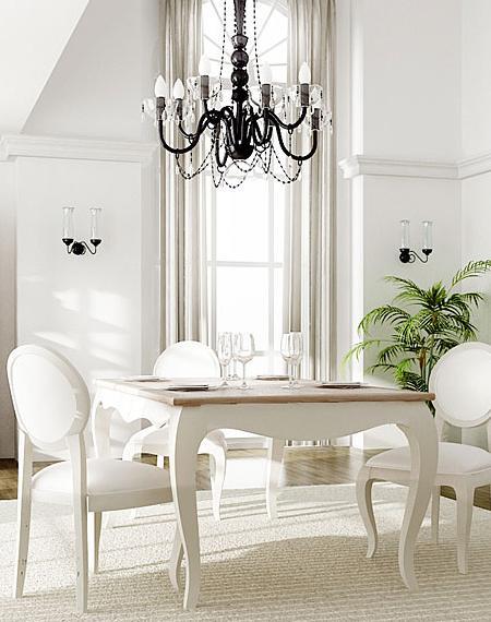 Vintage style in dining table darkofix blog - Comedores estilo vintage ...