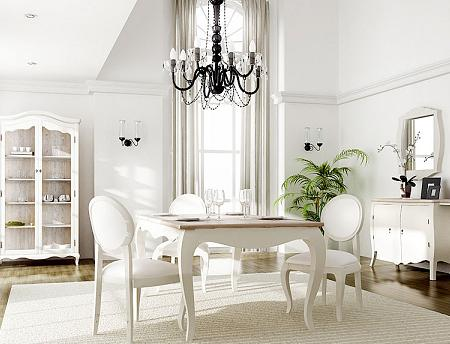 Vintage Style In Dining Table